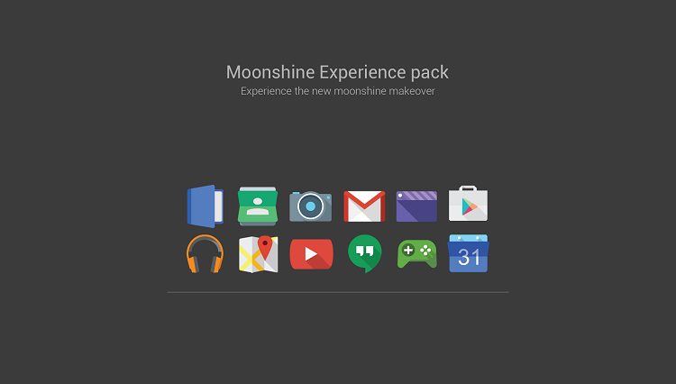 Moonshine - Icon Packs