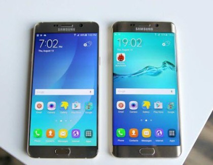 Samsung Galaxy 6 Edge+ and Galaxy Note 5 receives Firmware update in India