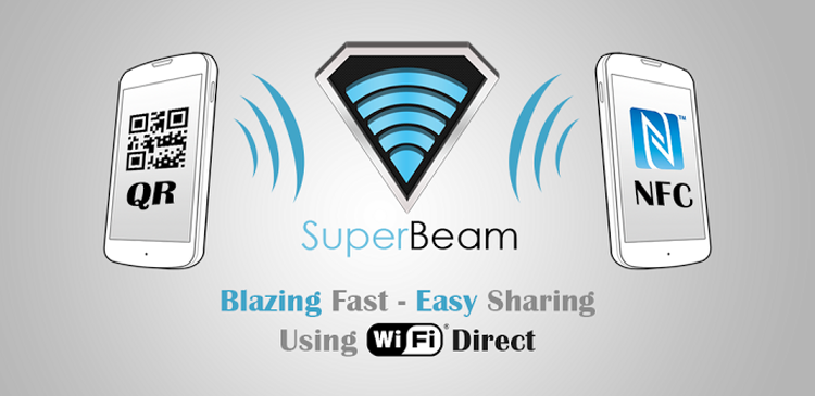SuperBeam  WiFi Direct Share - Top 5 Data Transferring Apps