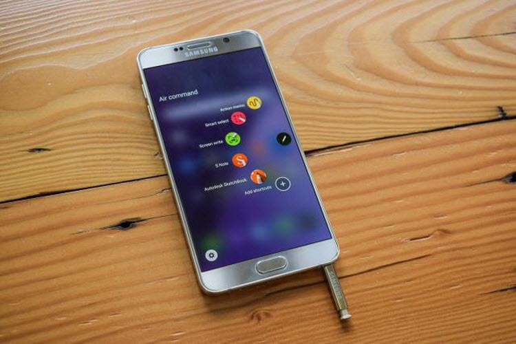 You can pretty much use the Note 5 pen to operate the phone completely