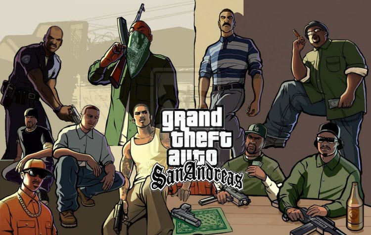 GTA San Andreas - Top 10 Offline Games