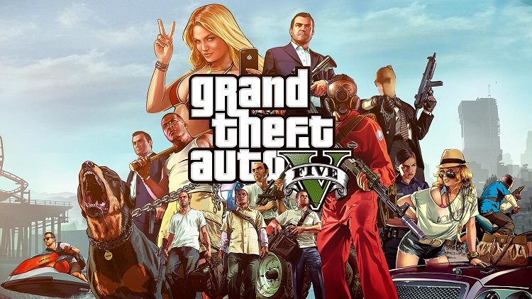 Grand Theft Auto 5 - Top 10 Games to Play on Xbox One