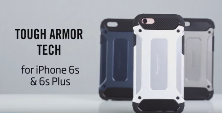 Spigen Tough Armor Tech Carbon - $22 - iPhone 6 and iPhone 6S Cases