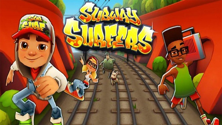 Subway Surfer - Top 10 Offline Games