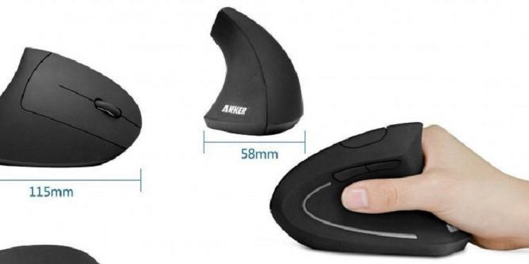 Anker BT Vertical Mouse - Budget Tech Gadgets