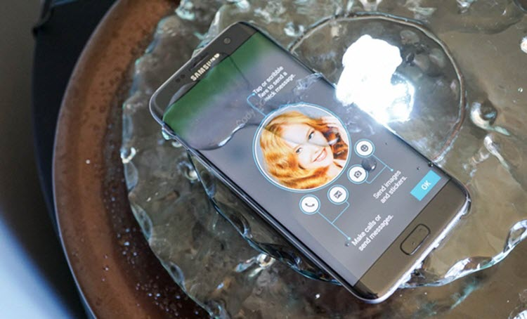It's Waterproof - Samsung Galaxy S7 and Galaxy S7 Edge