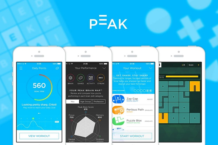 Peak - Top 5 Android Apps