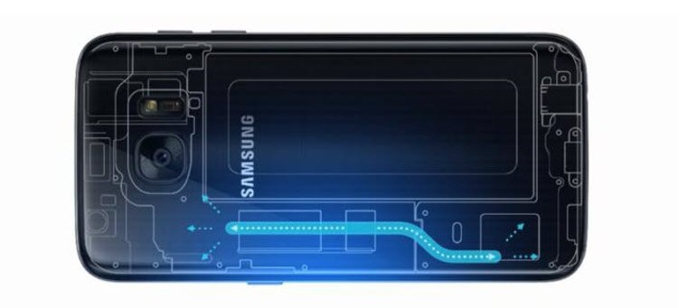 You have Water Inside Your Device! Yes That's a New Feature, It's a Water Cooler - Samsung Galaxy S7 and Galaxy S7 Edge