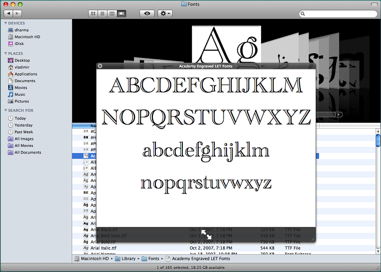 Preview the File - Mac