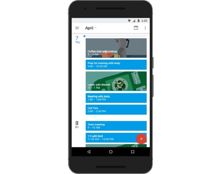 Google adds 'Goals' Tool to the Calendar app