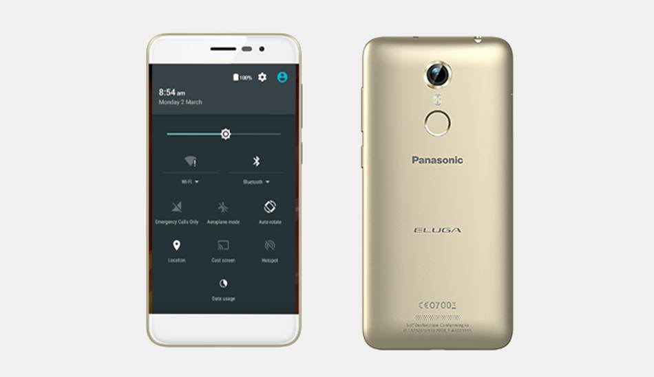 Panasonic launched a 4G smartphone Eluga Arc in India at Rs. 12,490
