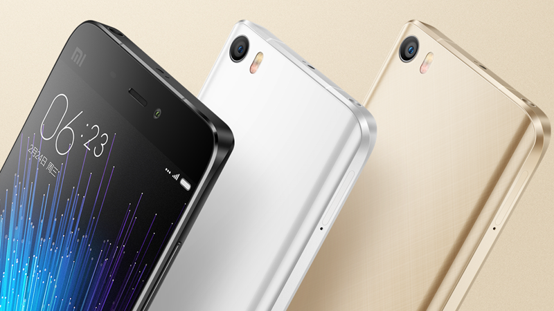 Xiaomi Mi5 will go on sale in India on April 13