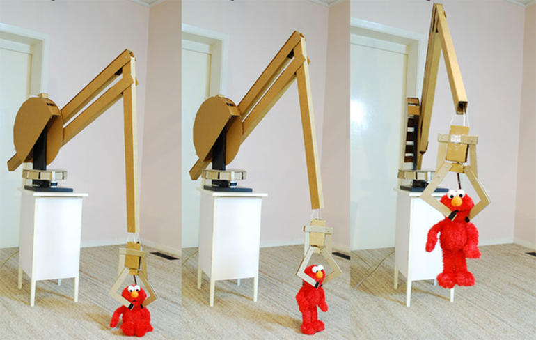 Cardborad-robotic-arm