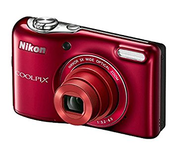 Flat 30% off on Nikon COOLPIX L32 Digital Camera with 5x Wide-Angle NIKKOR Zoom Lens