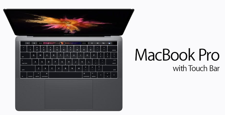 Apple Macbook Pro with touchbar